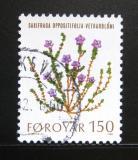 Poštovní známka Faerské ostrovy 1980 Mořské rostliny Mi# 50