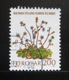 Poštovní známka Faerské ostrovy 1980 Mořské rostliny Mi# 51