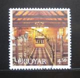 Poštovní známka Faerské ostrovy 1997 Kostel Hvalvik Mi# 327