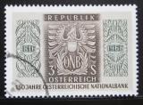 Poštovní známka Rakousko 1966 Národní banka Mi# 1207