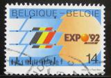 Poštovní známka Belgie 1992 Světová výstava EXPO Mi# 2500
