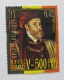 Poštovní známka Belgie 2000 Karel V. Mi# 2938