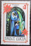 Poštovní známka Svatá Lucie 1984 Vánoce Mi# 687