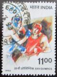 Poštovní známka Indie 1992 Box, LOH Barcelona Mi# 1359