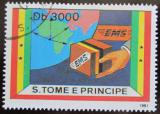 Poštovní známka Svatý Tomáš 1991 Expresní pošta Mi# 1301 20€