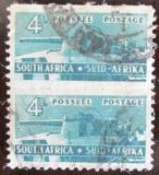 Poštovní známky JAR 1943 Dělostřelectvo, pár Mi# 165