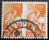 Poštovní známky JAR 1943 Svářeč, pár Mi# 163-64