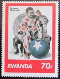 Poštovní známka Rwanda 1981 Umění, Norman Rockwell Mi# 1118