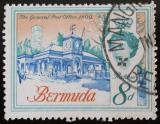Poštovní známka Bermudy 1962 Budova pošty Mi# 168