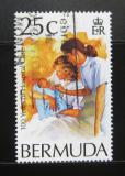 Poštovní známka Bermudy 1994 Nemocniční péče Mi# 655
