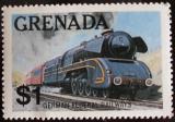 Poštovní známka Grenada 1982 Německá lokomotiva Mi# 1157