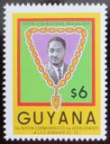 Poštovní známka Guyana 1986 Prezident Burnham Mi# 1730