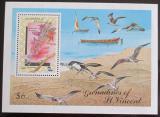 Poštovní známka Svatý Vincenc 1990 Orchideje, SPECIMEN Mi# Block 56