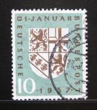 Poštovní známka Německo 1957 Znak Sárska Mi# 249