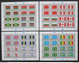Poštovní známky OSN New York 1983 Vlajky Archy Mi# 422-37