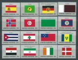 Poštovní známky OSN New York 1988 Vlajky Mi# 553-68
