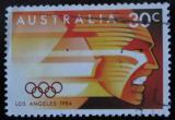 Poštovní známka Austrálie 1984 LOH Los Angeles Mi# 886