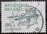 Poštovní známka Belgie 1988 Tiskařský stroj Mi# 2363