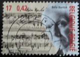 Poštovní známka Belgie 2000 Béla Bartók Mi# 3009