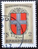 Poštovní známka Rakousko 1976 Erb Vídně Mi# 1530
