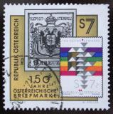 Poštovní známka Rakousko 2000 První rakouská známka Mi# 2316