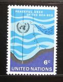 Poštovní známka OSN New York 1971 Moře Mi# 231