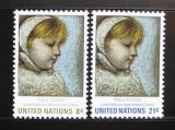Poštovní známky OSN New York 1971 Umění, Picasso Mi# 240-41