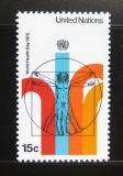Poštovní známka OSN New York 1972 Světový den zdraví Mi# 244