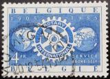 Poštovní známka Belgie 1954 Rotary Intl. Mi# 1003