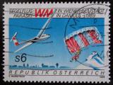 Poštovní známka Rakousko 1989 MS v bezmotorovém létání Mi# 1947