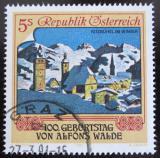 Poštovní známka Rakousko 1991 Kitzbuhel, A. Walde Mi# 2018