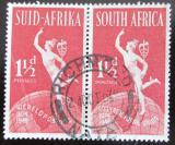 Poštovní známky JAR 1949 Merkury a glóbus, pár Mi# 213-14