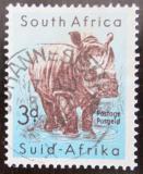 Poštovní známka JAR 1954 Nosorožec Mi# 243