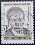 Poštovní známka Rakousko 1987 Dr. Erwin Schrodinger, fyzik Mi# 1892