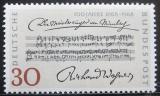Poštovní známka Německo 1968 Richard Wagner Mi# 566