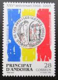 Poštovní známka Andorra Šp. 1993 Umění a literatura Mi# 234
