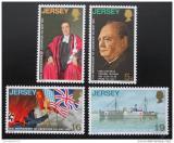 Poštovní známky Jersey 1970 Výročí osvobození Mi# 26-29
