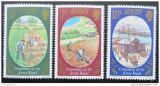 Poštovní známky Jersey 1980 Pěstování brambor Mi# 216-18
