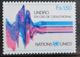 Poštovní známka OSN Ženeva 1979 Seismograf Mi# 82