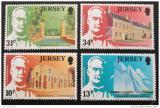 Poštovní známky Jersey 1985 Univerzita Victoria Mi# 368-71