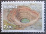Poštovní známka Alandy 1995 Geologická formace Mi# 94