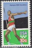 Poštovní známka USA 1979 LOH Moskva Mi# 1395