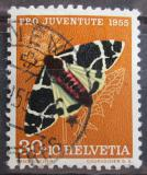 Poštovní známka Švýcarsko 1955 Můra Mi# 621 Kat 6€