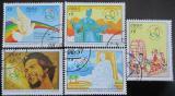 Poštovní známky Kuba 1997 Festival mládeže Mi# 4022-26