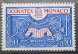 Poštovní známka Monako 1963 Filatetelistická výstava Mi# 741