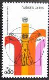 Poštovní známka OSN Ženeva 1972 Světový den zdraví Mi# 24