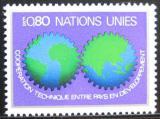 Poštovní známka OSN Ženeva 1978 Technická spolupráce Mi# 80