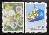 Poštovní známky OSN Ženeva 1983 Obchod a rozvoj Mi# 115-16