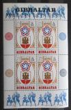 Poštovní známky Gibraltar 1976 Americká revoluce, 200. výročí Mi# Block 2