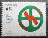 Poštovní známka Portugalsko 1992 Předsednictví v EU Mi# 1894